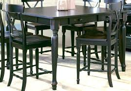 bar dining table set chairs stunning high dining table set bar height black room tables with bar dining table