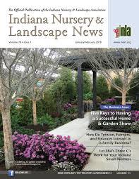 Landscape Design Evansville Indiana Indiana Nursery Landscape News Janfeb 2018 Issue By