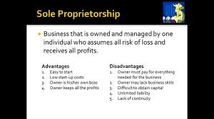 types of business organization m l presentation types of business organization m1 l3 presentation