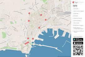 naples printable tourist map  sygic travel