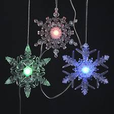 string lighting indoor. Northlight 20-Count 15-ft Musical Twinkling Multicolor Snowflake LED Battery-Operated Indoor String Lighting