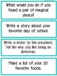 writing prompts writing checklist junior high english  101 writing prompts writing checklist image 2 we had to do