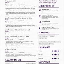 The Success Journey Marissa Mayers Pre Yahoo Resume Pinterest