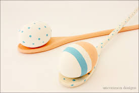 Wooden Spoon Game Fascinating Paint Your Own Egg And Spoon Easter Game Uncommon Designs