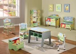 bedroom table chairs set children  childrens sunny safari table chair and bench set
