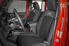 91034 jeep neoprene seat cover set