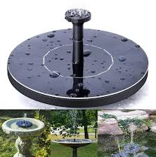 outdoor solar powered water fountain pump floating outdoor bird bath for bath garden pond watering kit ooa5133 solar fountain pump solar water pump outdoor