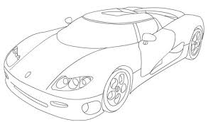 Koenigsegg Cs8s Coloring Page Free Printable Coloring Pages