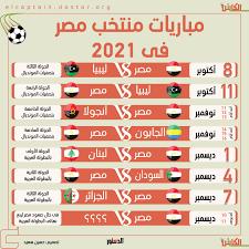 إنفوجراف.. تعرف على مباريات منتخب مصر في 2021