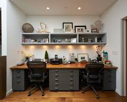 double desk office furniture. Beautiful Home Office Design For Two People With Double Desk On Furniture
