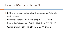 3 how is bmi calculated