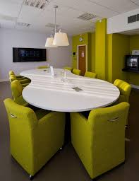 small office conference table. Small Conference Room, Kind Of Funky Colors But That Is One The Things Office Table E