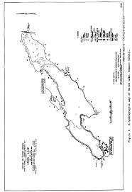 Union Reservoir Depth Chart Union Lake Branch County Mi