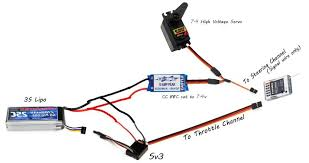 cc bec setup diagram for hv servo at 7 4v rccrawler click the image to open in full size