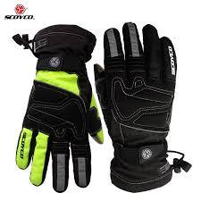Moto rcycle зимние <b>теплые перчатки</b> бренд Scoyco MC30 moto ...
