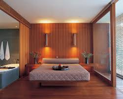 Interior Design Bedrooms With Romantic Background Light HD Decorate - Interior of bedroom