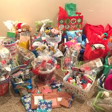 the baskets include toiletry items restaurant gift cards snacks candy and games for kids cano knows that the ability to brush your teeth or play a