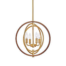 motini orb chandelier 4 light