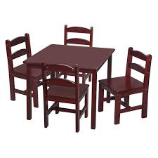 kids table chair sets kids dining table and chairs