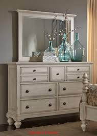 Liberty Furniture High Country Piece Poster Bedroom Set In White