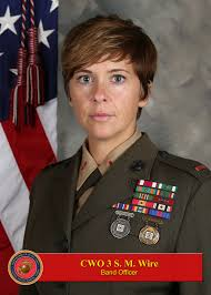 cwo navy cwo3 stephanie wire 1st marine division leaders