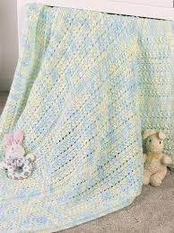 Baby Afghan Patterns Impressive Little Huggy Baby Blanket Knitting Free Patterns