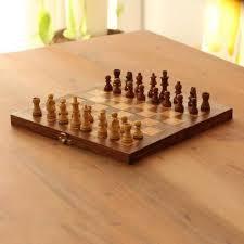 wood chess set chess club babul acacia haldu wood chess set convertible
