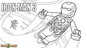 Small Picture LEGO Iron Man 3 Coloring Page Printable Sheet LEGO Marvel Super