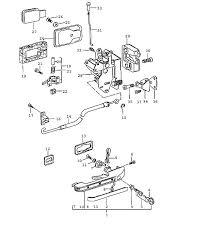 car door lock parts6 car