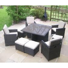 rattan patio set piece algarve sofa for patios furniture outdoor outdoor rattan dining sets plastic