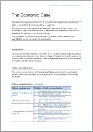 Ms Word Business Plan Template Business Case Template Example Image Microsoft Word Business Plan