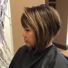 Graduated Bob Hairstyles 25 Long Bob Haircut Ideas Designs Hairstyles Design Trends