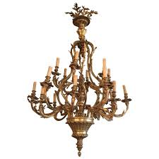viyet designer furniture lighting vintage brass candelabra chandelier