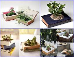 Creative decoration with books