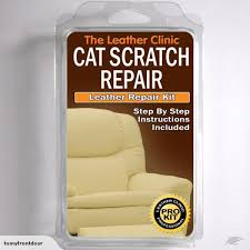 black leather cat scratch repair kit easy trade me