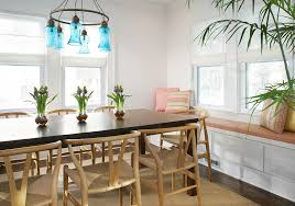 dining room furniture beach house. Parsons Dining Chairs With Nailheads Room Beach Style House Dark Wood Floors Furniture S
