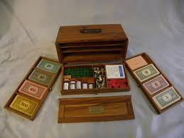 Wooden Monopoly Board Game wood monopoly set Google Search Woodcraft Creations 17