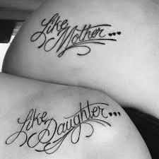 21 Wundervolle Mutter Tochter Tattoos Tattoo Mutter Tochter