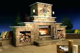 masonry fireplace kits image of outdoor kit