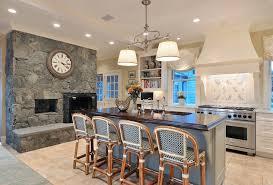 pendant light fixtures kitchen traditional with barstools breakfast bar clock
