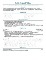 Make sure you read the job description. Restaurant General Manager Resume Examples Myperfectresume