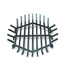 36 inch high fireplace screen round grate wide cast iron