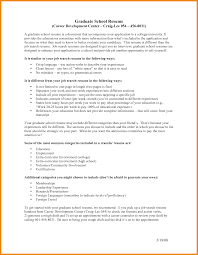 Resume For Graduate School Art Resume Examples