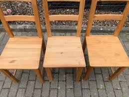 Stuhl Küche Hell Holz Esszimmer