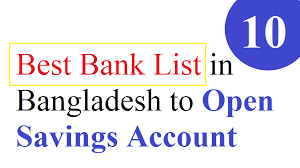 Nrb Bank Dps Chart 10 Best Bank List In Bangladesh To Open Savings Account