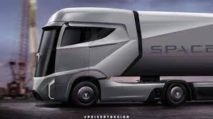 2018 tesla semi truck. beautiful truck tesla semi rendered by peisert design in 2018 tesla semi truck u