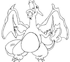 Charizard Coloring Pages Free Coloring Pages Mega Y Printable For