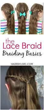 Lace Hair Style braiding basics the lace braid hair by lori 1729 by wearticles.com