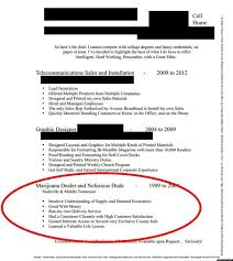 Cannabis Resume Example LOOK Guy's Resume Lists Experience As 'Marijuana Dealer And 2