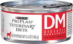 best food for diabetic cat. Purina Pro Plan Veterinary Diets DM Dietetic Management Formula Canned Cat Food, 5.5-oz, Case Of 24 - Chewy.com Best Food For Diabetic Y